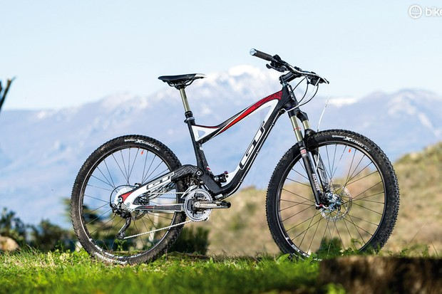 The GT Sensor's low weight and great pedalling manners romp the climbs