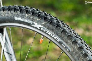 The Sensor's Continental tyres are, sadly, sketchy in the wet