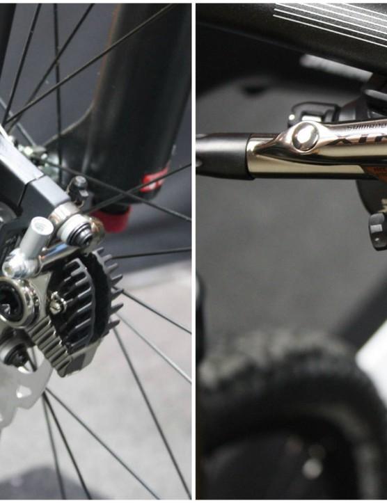 Shimano XTR BR-M9020 Trail brakes