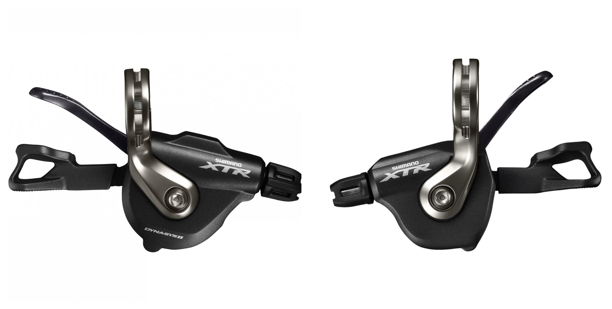 Shimano XTR SL-M9000 shifters