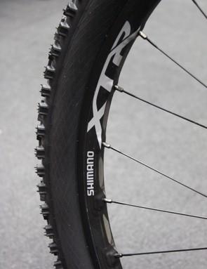 Shimano WH-M9000-TL wheelset