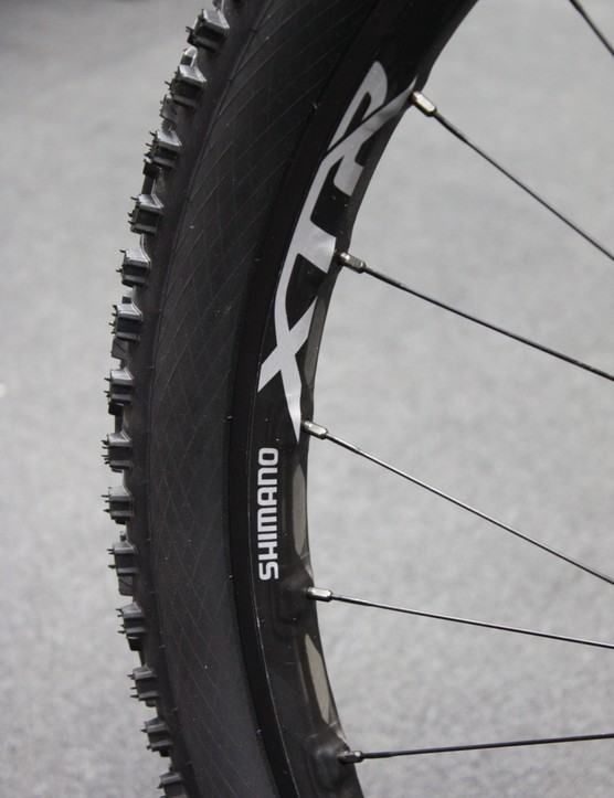 Shimano WH-M9000-TL wheelset