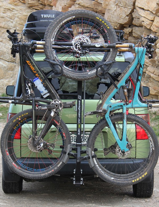 The Jackknife 4 holds found bikes vertically