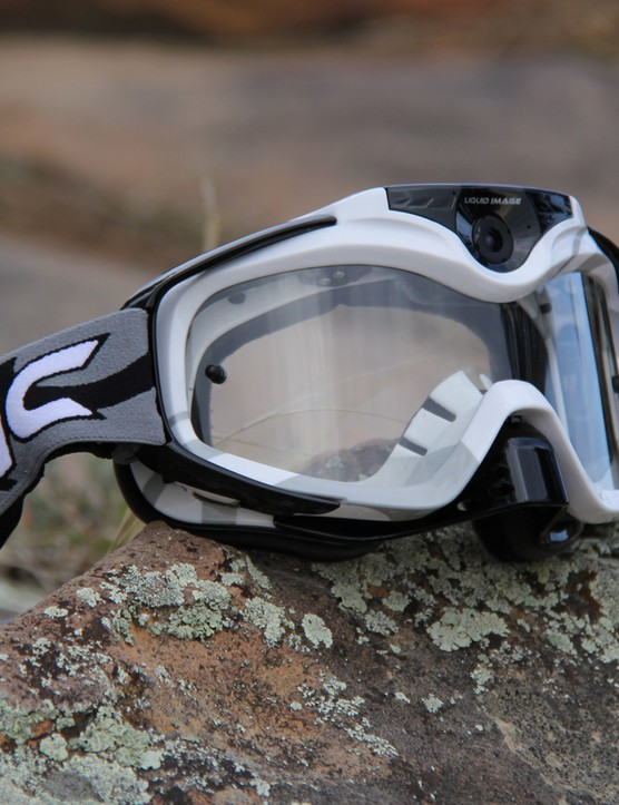 The Torque HD + WiFi goggles are a novel take on the wearable video camera