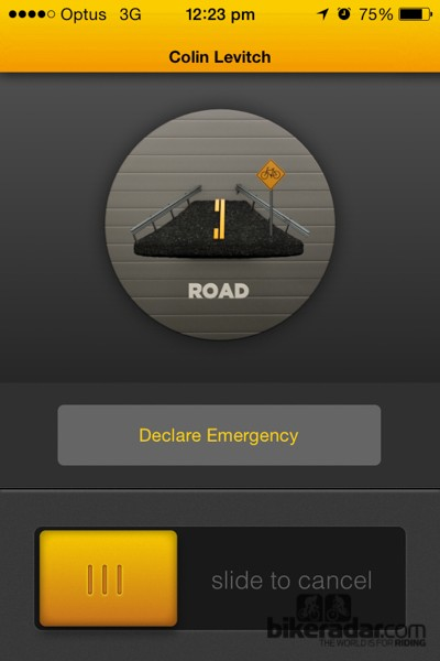 If you find yourself in a bad situation and need help, an emergency can be declared manually