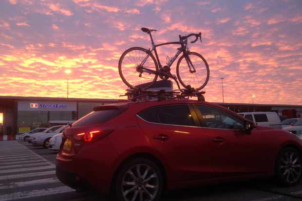 Transportign bikes in style on the all-new Mazda3