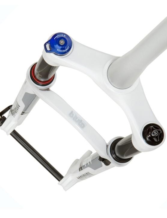 The RockShox Bluto has three trims of travel -  80/100/120mm .