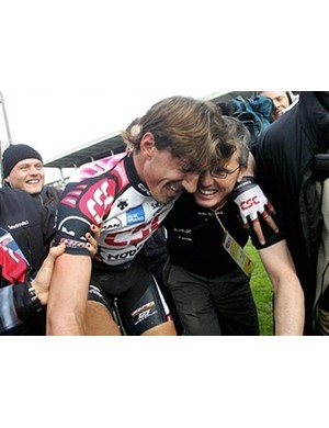 Scott Sunderland played an instrumental role at CSC for both the 2006 and 2007 Paris-Roubaix wins