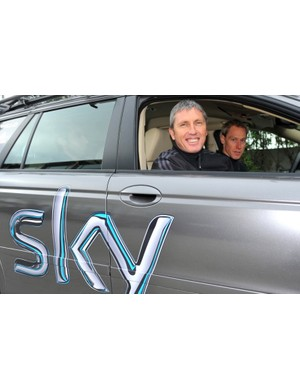 Sunderland was there for the inception of Team Sky