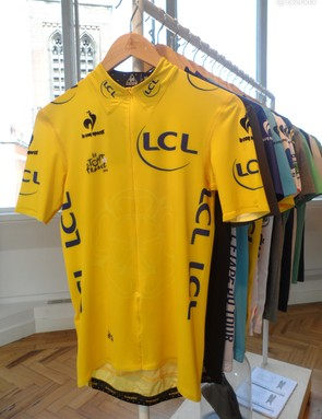 Just 500 of the very limited edition yellow jersey replica will be available