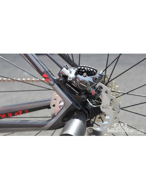 Felt is employing a mix of TRP and Shimano disc brakes on its 2015 road and cyclocross bikes