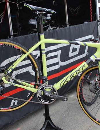 The F2x is the top-end bike. It will be sold as a frameset