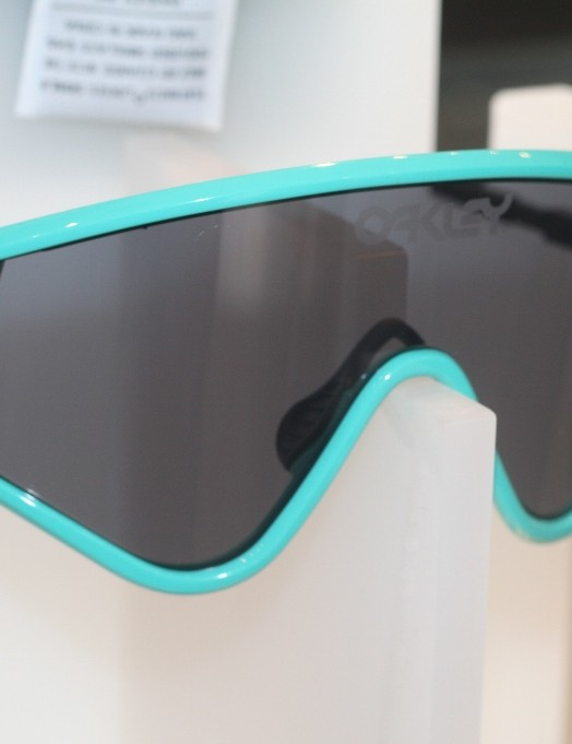 The Heritage edition Oakley Eyeshades. The originals were unveiled in 1984
