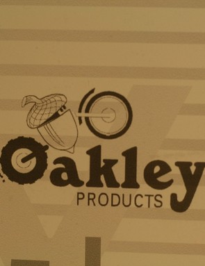The original 1970s Oakley logo featured an acorn – light years away from the company'super cool brand image of today