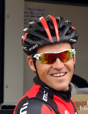 Greg Van Avermaet (BMC) in the heritage editions Radar Locks
