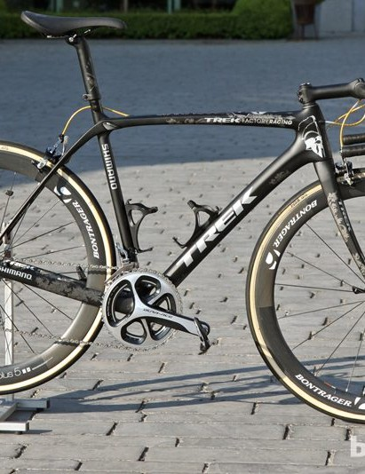 This Trek Domane Classics is just so, so cool.