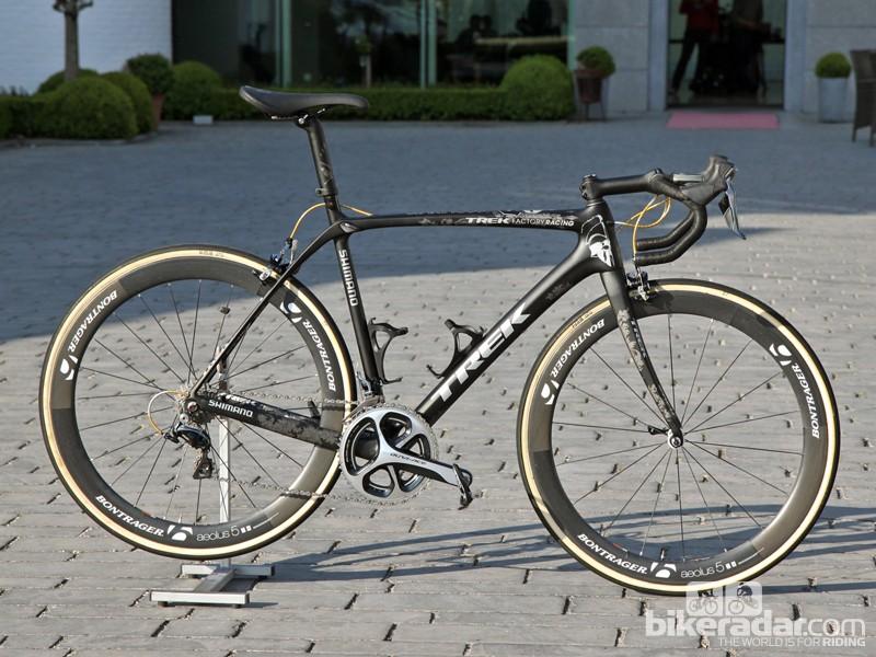 Fabian Cancellara (Trek Factory Racing) will once again ride his trusty Trek Domane Classics at Paris-Roubaix