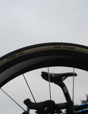 FMB tires were ubiquitous across the peloton – including on Edvald Boasson Hagen's (Team Sky) Pinarello