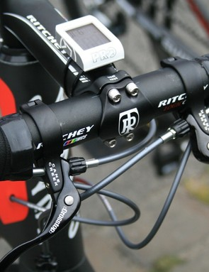 Some Katusha riders mounted Cane Creek cyclocross brake levers
