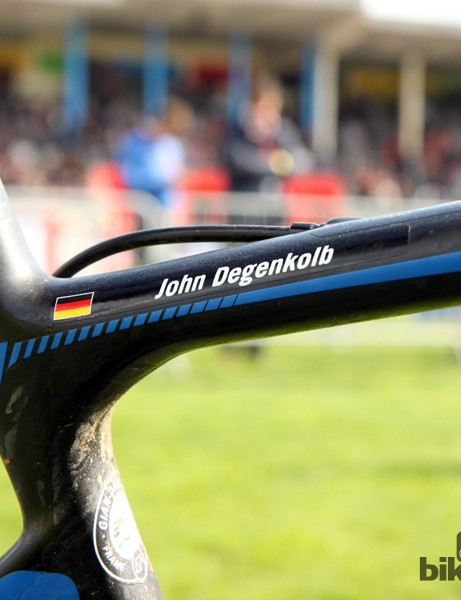 John Degenkolb (Giant-Shimano) is just 25 years old and in fantastic form this season, winning at Gent-Wevelgem and finishing second at Paris-Roubaix