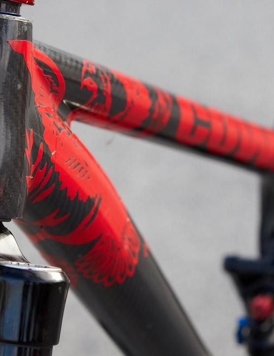 Cowan bikes' prototype full suspension singlespeed frame