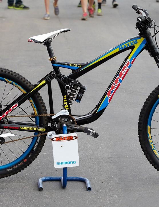 650b downhill bike from KHS