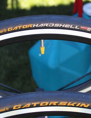 The Gatorskin comes in up to a 32mm width, with the Gator Hardshell, as its name implies, boasting a triple-layer casing for severe puncture resistance