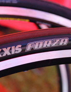 The Maxxis Forza is one of two road tubulars —a brand new category for Maxxis
