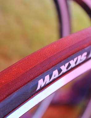 Maxxis has made road clinchers for years. This, plus the US$74 Forza, are the company's first tubulars
