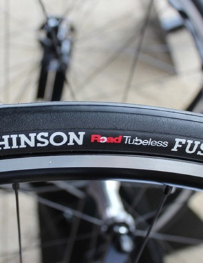 For 2014, Hutchinson has a 25mm Fusion tubeless tyre as well as its 23mm model