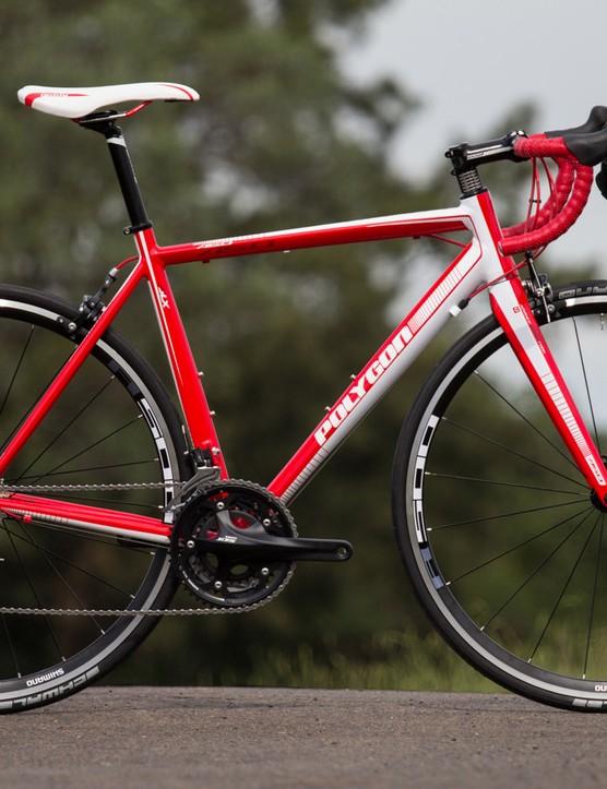 Polygon Helios A5.0 - a strange choice of gearing, but still a fantastic bike