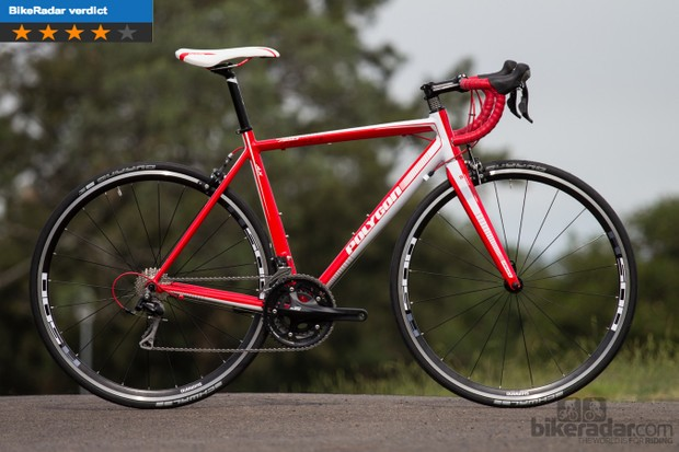 Polygon Helios A5.0 - a strange choice of gearing, but still a fantastic bike
