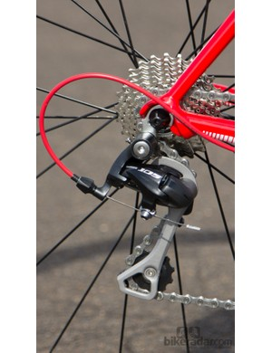 A long-cage rear derailleur would be better used with a wider-range rear cassette