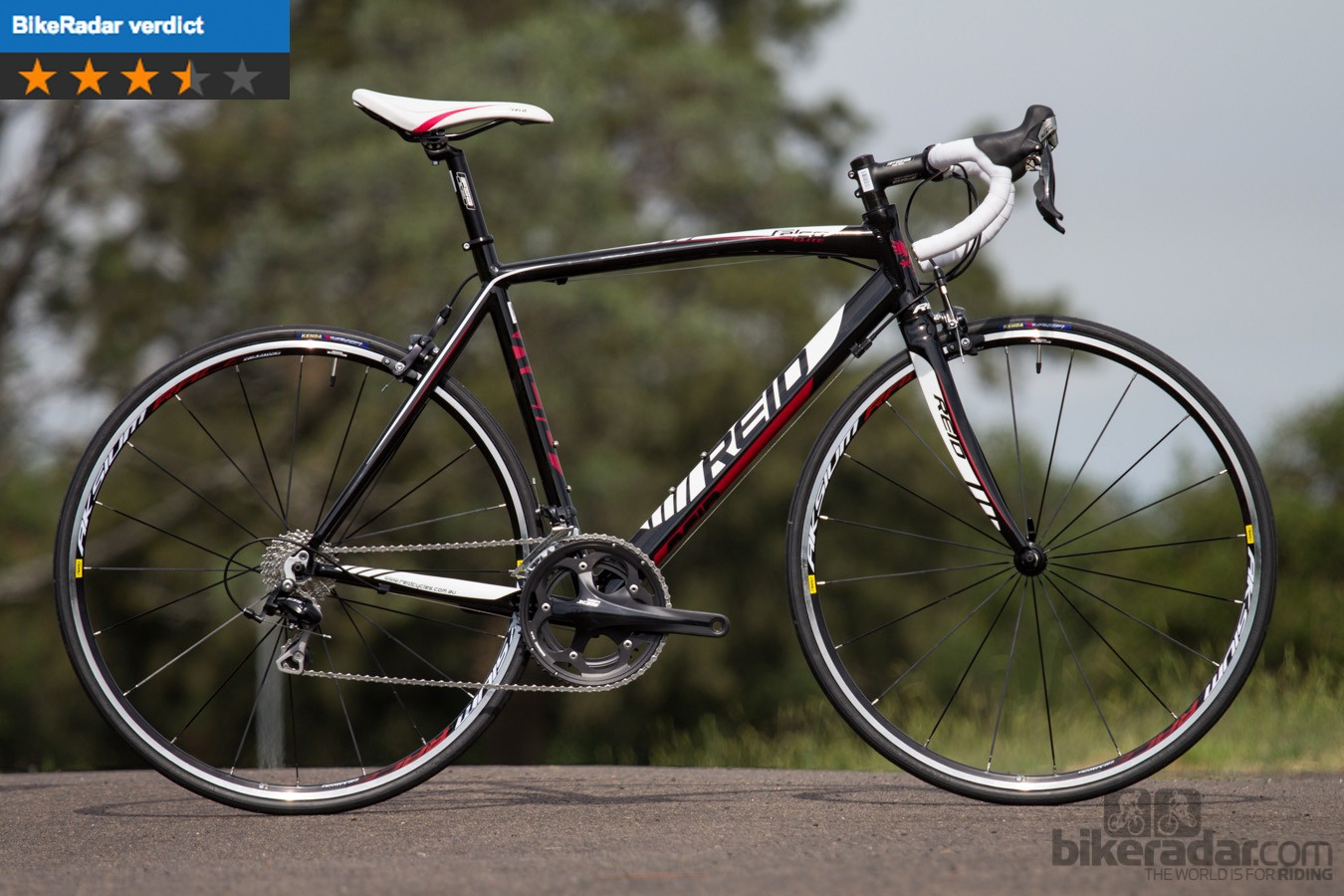 "The Reid Cycles Falco Elite, which claims to be ""Australia's best value road bike"""