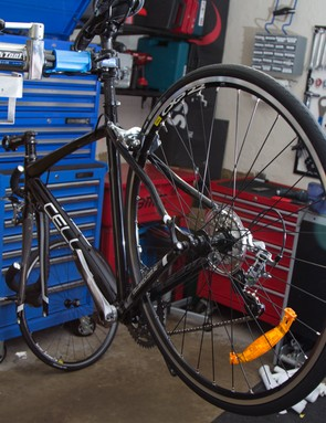 Of course a workstand (repair stand) makes the build process easier, but is far from necessary