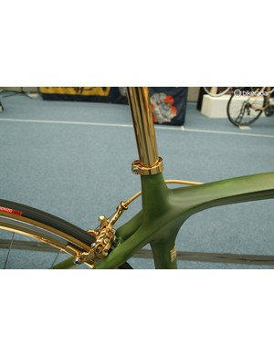 It's difficult to deny the gold finish has a certain allure. It's durable too, we were told