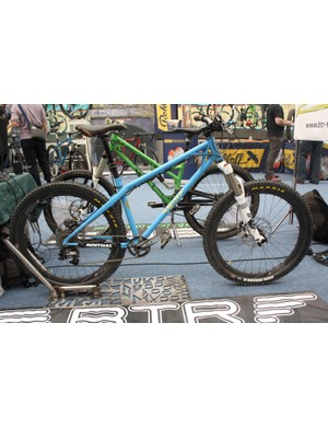 This is the Ranger, a tidy yet tough hardtail from BTR Fabrications
