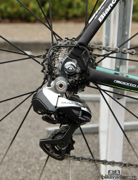 Sep Vanmarcke (Belkin) went with a Shimano Dura-Ace Di2 9070 group at Paris-Roubaix