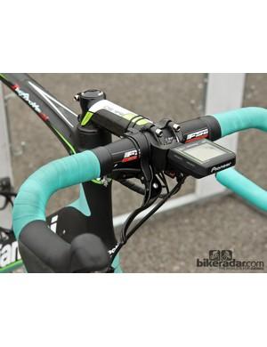 Sep Vanmarcke (Belkin) used a single top-mounted brake lever at Paris-Roubaix