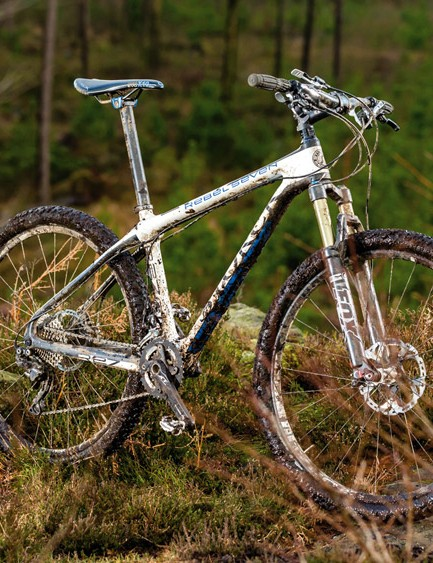 If this bike were any stiffer it would slice through the rocks instead of over them