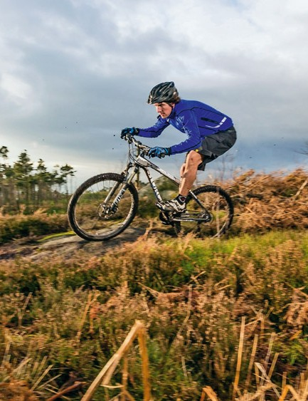 Light, massively powerful and confidently planted, the monster-tubed Storck hits the trails with a proper Rebel yell
