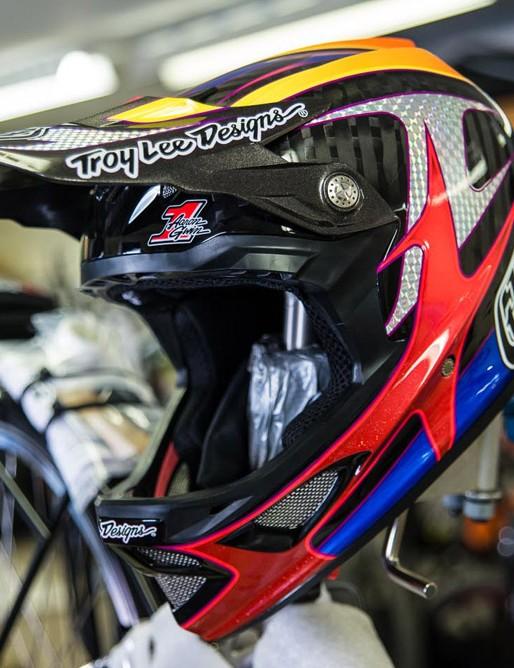Troy Lee Designs Aaron Gwin D3 helmet