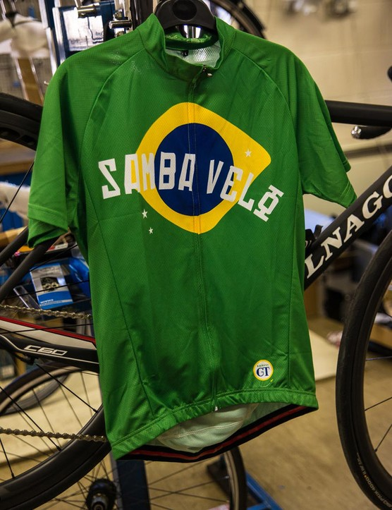Hackney GT Samba Velo jersey