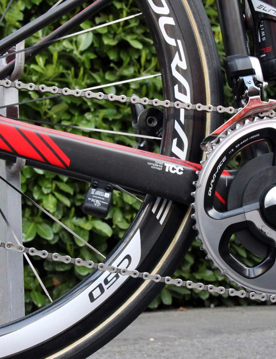 The chain stays on the BMC GF01 are huge