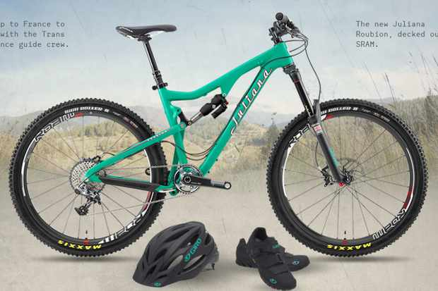 The new Juliana Roubion has emerged ahead of its official release, on the Juliana Bicycles website