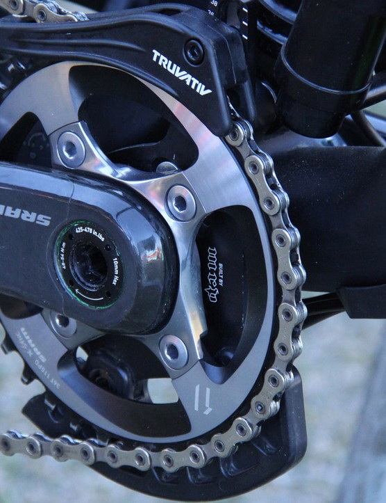 Clementz pushes a 36T X-Sync chainring