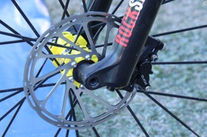 The new SRAM Guide brakes use the same four-piston calipers as the XO Trail brakes they replace