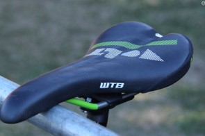 The WTB Volt is Clementz saddle of choice