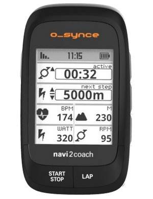 Verve Cycling plans to have its own branded version of this o_synce head unit soon