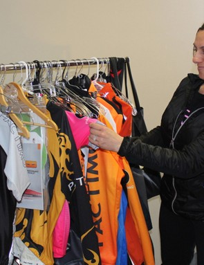 Developer Barb Hagner is constantly refining current Pactimo clothing, and examining what competitors are doing